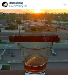 @darrenpking is the #cigarsonlocation winner this week! His photo was taken on location in Hotel Valley Ho in Scottsdale Arizona during a beautiful sunset. Direct message us your address so we can ship your 601 Reserva Limitada Cigar. Enjoy! Thanks to everyone who participated. Keep a look out for more contests on our page. by havanashoppe