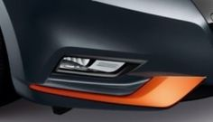 Nissan Micra (K14FR) Orange, Front Bumper Finishers 2017- Personalise the front bumper of your Nissan Micra with this genuine nissan accessory. Create a new face for your Micra, making sure you stand out from the crowd.