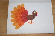 Thanksgiving Craft: Fingerprint