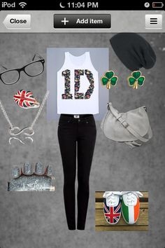 I just love, love, love this 1D outfit!! I would wear it anytime.