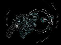 Marker Icon, Psycho Pass, Dieselpunk, Cyberpunk, Handgun, Fanart, Guns, Aesthetics, Drawings