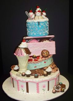 Cake Wrecks - Home - Sunday Sweets: Sweet Treats Pretty Cakes, Cute Cakes, Yummy Cakes, Crazy Cakes, Fancy Cakes, Fondant Cakes, Cupcake Cakes, Biscuits, Cake Wrecks