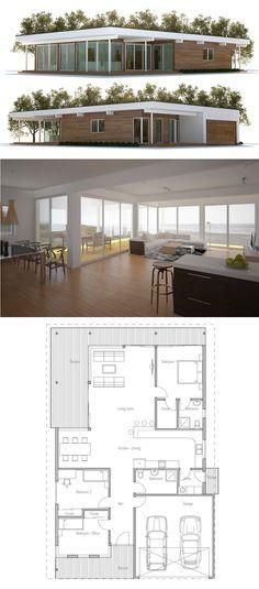 Floor area: 176.6 m² Building area: 194.8 m² Bedrooms: 3 Bathrooms: 2 Floors: 1 Height: 3.25 m Width: 12.6 m Depth: 18.43 m Cost to Build: from $ 160 000