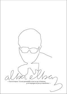 sketches by Alber Elbaz