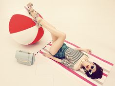 Brantano Photography Tips, Fashion Photography, Beach Ball, Summer Vibes, Pastel, Glamour, Spring, Cover, Outfits