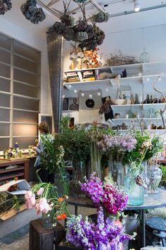 hattie fox' that flower shop at ace hotel, london // via 70percentpure.be