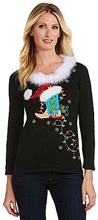 Berek Rodeo Lights Christmas Sweater
