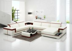Leather Modular Sofa, Genuine Leather Sofa, Leather Sofa Set, Leather Sectional, Bonded Leather, Buy Living Room Furniture, Living Room Sets, Sofa Furniture, Living Area