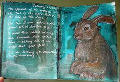 Art Journal - Hare - Kim Rae Nugent