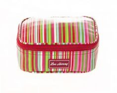 Lunch Box Cooler Bag - Candy Stripe $34.95 www.gumbootsandcurls.com.au Lunch Box Cooler, Candy Stripes, Hand Bags, Cosmetic Bag, Range, Wallet, Cookers, Handbags, Makeup Pouch