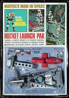 Wildtoy's Major Matt Mason Mattel Playsets Page Vintage Toys 1960s, 1960s Toys, Retro Toys, Gi Joe, Childhood Toys, Childhood Memories, Marvel Secret Wars, Geek Toys, Toy Packaging
