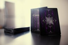 Artifice Playing Cards: Purple || Borderless. Unlimited. Beautiful. Available now at  Ellusionist.com