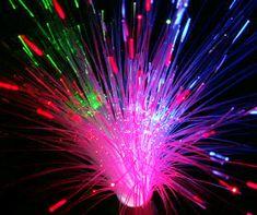 Fibre Optic multi-colour lamp