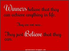 Success Quotes: Quote 4: Do you Believe?