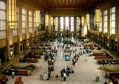 30th Street Station, Philadelphia.  This is just a really cool place for a kid to go. Riding the train is an experience that every child should get to enjoy!