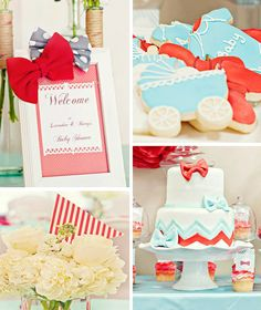 Adorable Bow Tie Baby Shower with Lots of Ideas via Kara's Party Ideas | KarasPartyIdeas.com #bow #tie #baby #shower #supplies #ideas