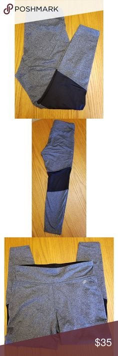 Spalding grey and black leggings new with tags Women's athletic leggings  Women's size Large Spalding brand Retails $48  Comes from a smoke free but pet friendly home   Most offers will be considered   Save 15% on all 2+ bundles   All transactions will be through poshmark only spalding Pants Leggings