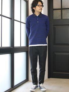 春夏だけではないポロシャツスタイル。 [AUD1828] http://www.aud-inc.com/product/2641 上品な質感と、体の動きにフィットする肌触りの良いミラノリブ素材からなる長袖ポロシャツ。 トップでの着用時の存在感は勿論の事、シャツ感覚でジャケット等のインナーとしても使える汎用性の高いアイテム。 アウターのインナーには様々なアイテムとの着合わせが楽しみの1つでもある中で、秋冬に着るポロシャツを使ったコーディネートも新鮮に映ります。  休日の本日も20時迄の営業にて 皆様のご来店を、お待ち致しております!