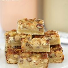 Thermomix Caramel Nut Slice