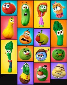 Veggie Tales Party, Fall Harvest Party, Kids Church, Free Printables, Veggies, Drawings, Vegetable Recipes, Free Printable, Vegetables