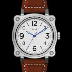 TSOVET  USA  Aviator SVT-GG42 Watch Ref: GG110111-01 42mm Brushed S/S Case BNIB - MSRP: $525 + Shipping - Last Stock - No-Reserve Auction