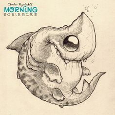 Artist Chris Ryniak. Cute critters and monsters creator