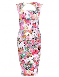 5129c8631793e5 Womens Fashion Celebrity Inspired Floral Dress As worn by Kim Kardashian  Wholesale price  £6.99