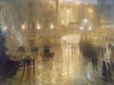 A Wet Night at Piccadilly Circus 1910