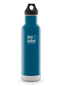 Klean Kanteen Classic Insulated 20-Ounce Stainless Steel Bottle With Loop Cap ** This is an Amazon Affiliate link. Details can be found by clicking on the image.
