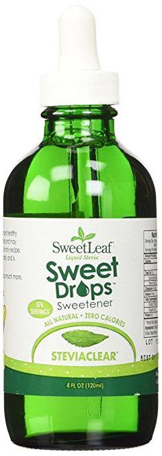 Amazon.com: SWEET LEAF LIQ STEVIA,CLEAR,120ML, 4 FZ: Health & Personal Care