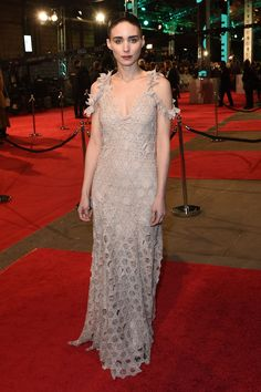 Rooney Mara in a Givenchy Couture