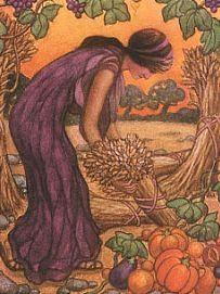 Demeter, Greek Goddess of Agriculture and Grain