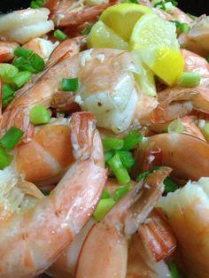 Yummy lemon shrimp