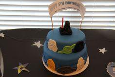 Star War Party Cake #starwars #cake