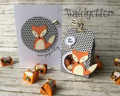 card tag with critters foxy fox fall autumn This could be made with the SU Fox Builder Punch Foxy Friends Punch, Stampin Up Catalog, Marianne Design, Shaker Cards, Cards For Friends, Card Tags, Stamping Up, Cool Cards, Kids Cards