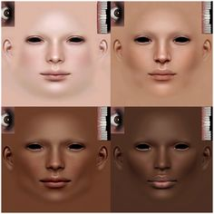 I love your skins but I'm having a hard time finding default versions of the newer ones. Do you know where I can find some? In an ideal world I'd love to have Misc Skin Blend 13 defaulted as Skin Mapping, Texture Mapping, Sims 2, Demon Drawings, Sims Hair, Love Your Skin, The Sims4, Character Modeling, Sims 4 Custom Content