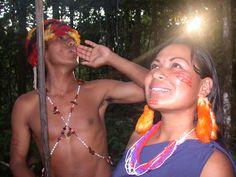 Shuar Amazon Amazonía Amazonia Ecuador Oriente Selva Jungle http://www.ecuadorgalapagostravels.ec/index.php?pagina=amztours