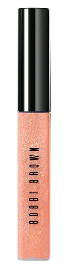 Shimmery lip gloss