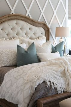 Modern French Country Bed