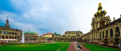 Zwinger - The Zwinger is a museum complex that contains the Gemäldegalerie Alte Meister (Old Masters Picture Gallery), the Dresden Porcelain Collection (Porzellansammlung) and the Mathematisch-Physikalischer Salon (Royal Cabinet of Mathematical and Physical Instruments).