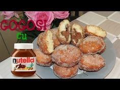 YouTube I Foods, Nutella, Deserts, Muffin, Sweets, Candy, Romania, Breakfast, Bar