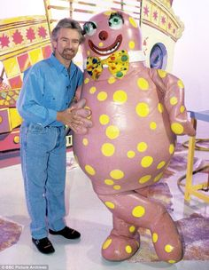 Popular: Mr Blobby with Noel Edmonds on Noel's House Party, which was axed by the BBC in 1999. So wrong in so many different ways