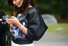 la-modella-mafia-model-off-duty-street-style-in-Balenciaga-rocker-shirts