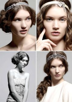 vintage wedding hair accessories2