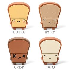 This goes with the USB toaster! Butta is my favorite! Which one is yours?