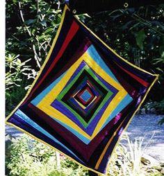 Tilted quilt by Kristin Miller
