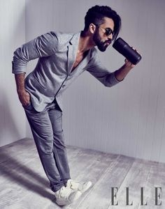 Uber hot @shahidkapoor's fierce photo shoot from ELLE's December issue