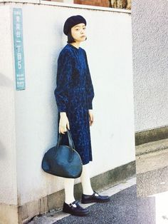 Kanoco│MHL.のハンチング・ベレー帽コーディネート-WEAR