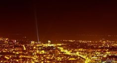 Sibiu by Night by Valentin Besa