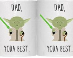 Dad yoda best Mug *Star wars Mug* *yoda Mug*